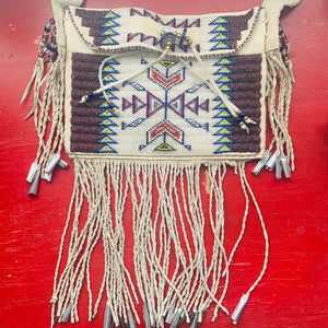Stunning Native American Beaded Purse