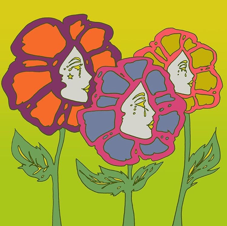 Flower Children Print