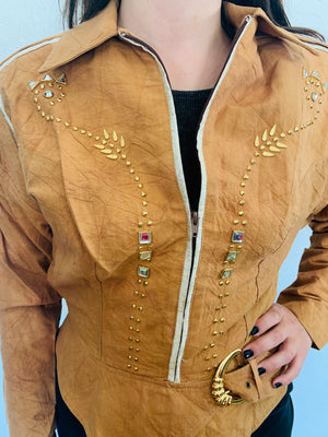 80s Studded Power Jacket
