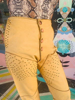Easy Rider Studded Leather Pants