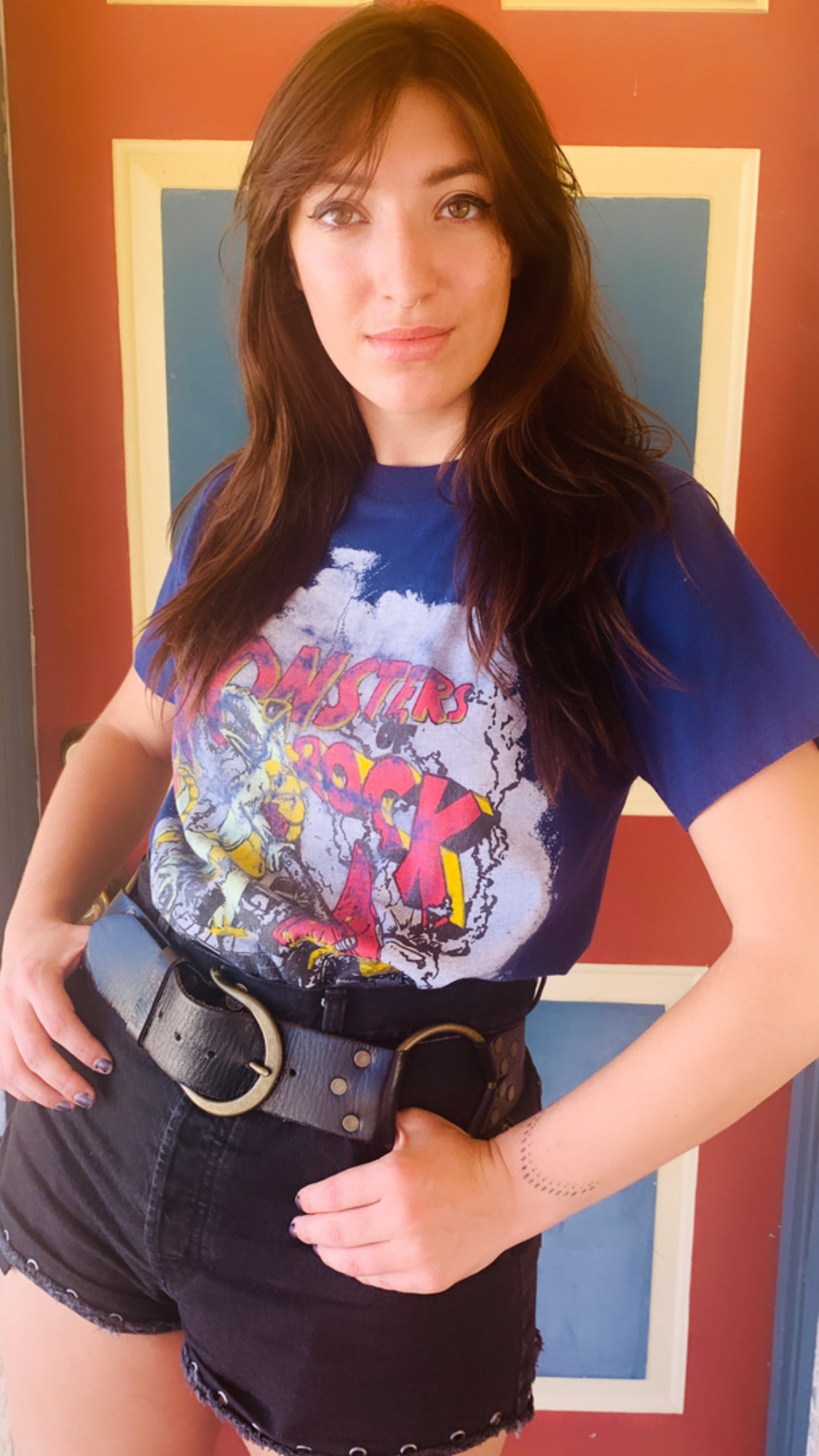 Vintage Monsters Of Rock 1988 World Tour Tee
