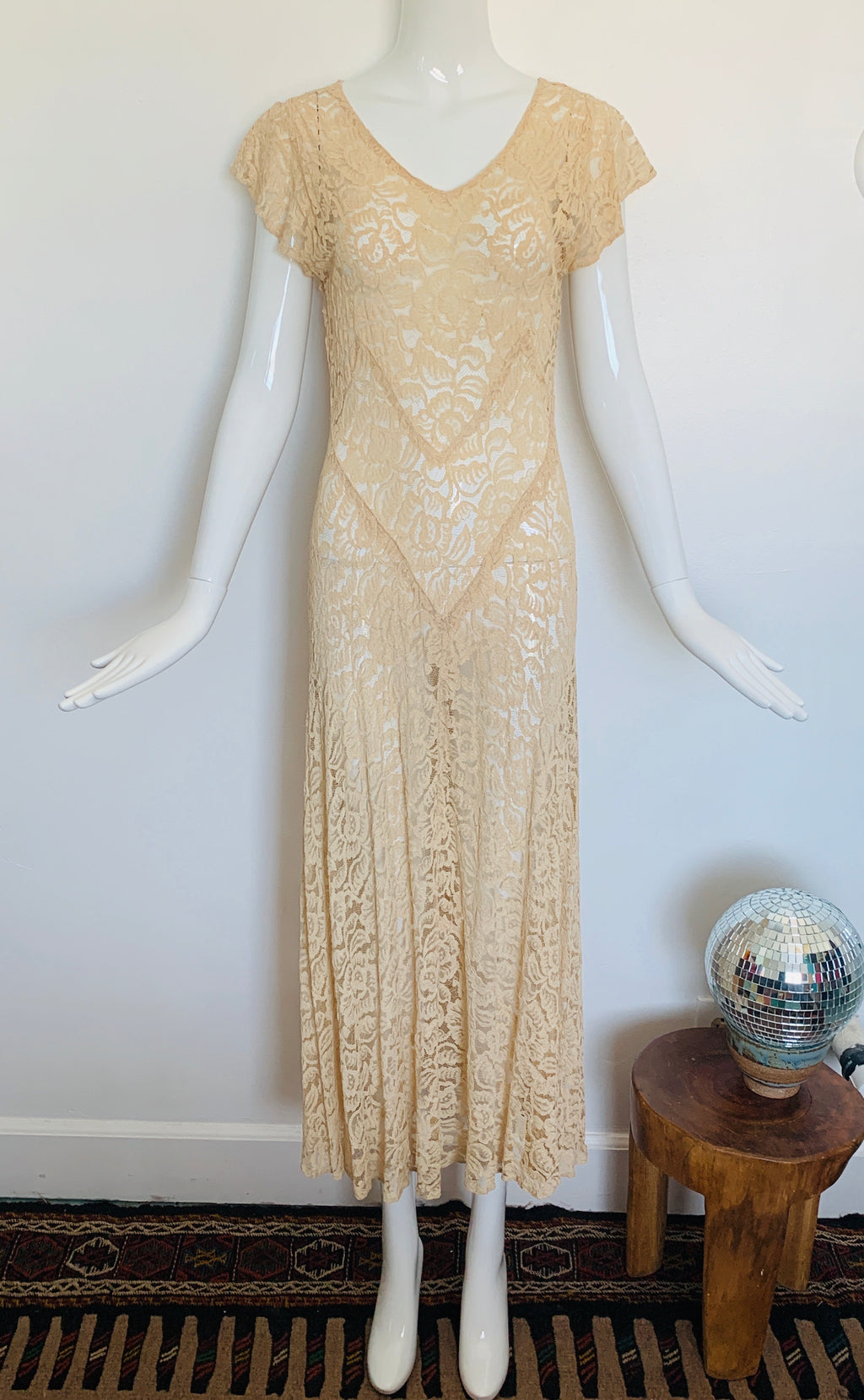 Delicate 1930s Lacey Dress