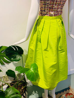 Neon Voluminous Skirt