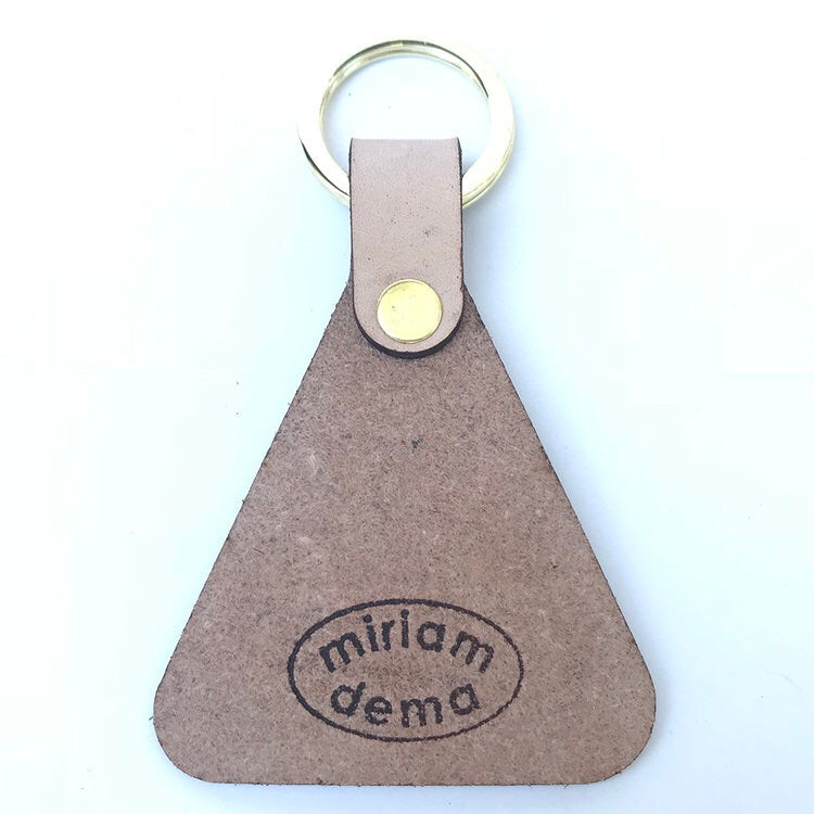 Good Luck Leather Keychain