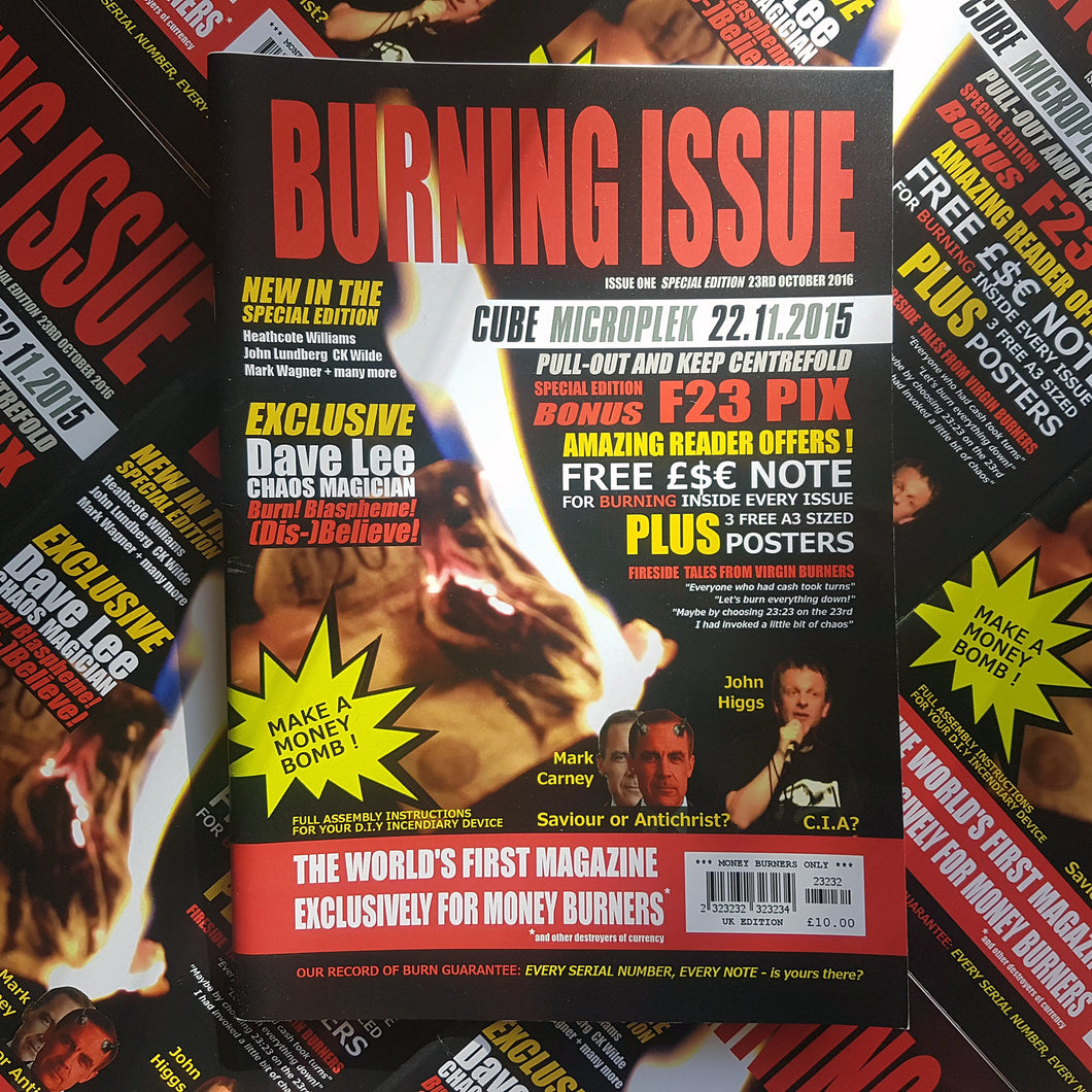Burning Issue Magazine Oct 2016 (Print)