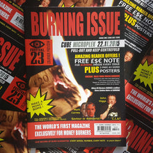 Load image into Gallery viewer, Burning Issue Magazine July 2016 (Print)