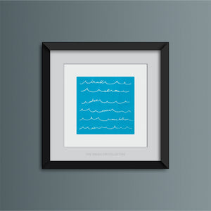 All At Sea Art Print