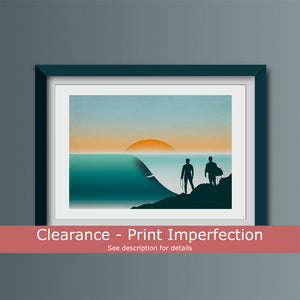 Clearance -  Anchor Point Art Print