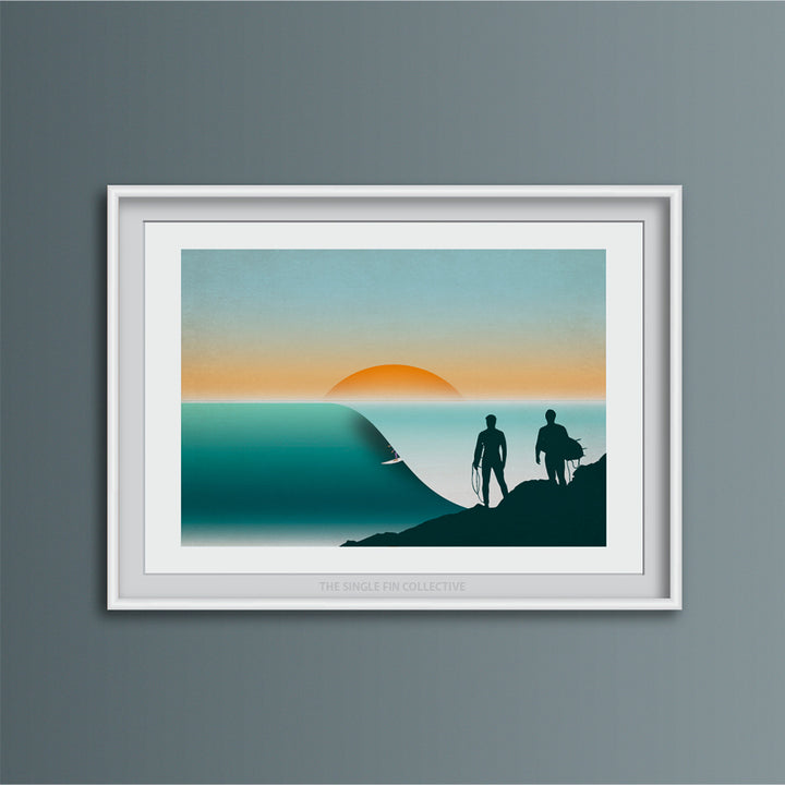Anchor Point Surf Spot Art Print