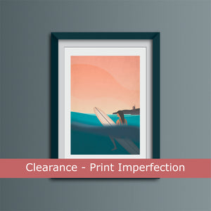 Clearance -  Good Times in the Badlands Art Print