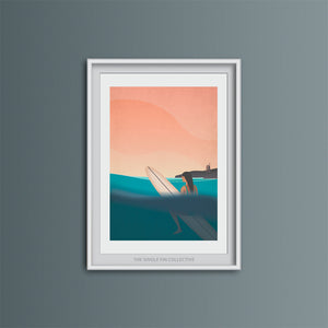 Good Times in the Badlands Art Print