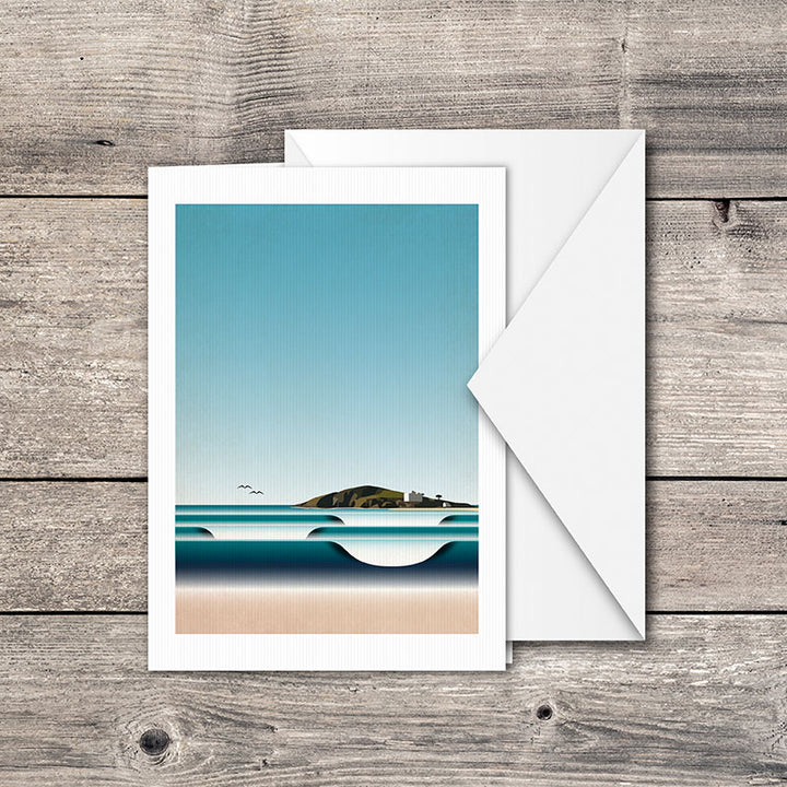 Burgh Island Greeting Card