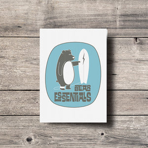 Bear Essentials Greeting Card
