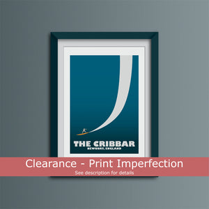 Clearance - Cribbar Big Wave Spot Art Print
