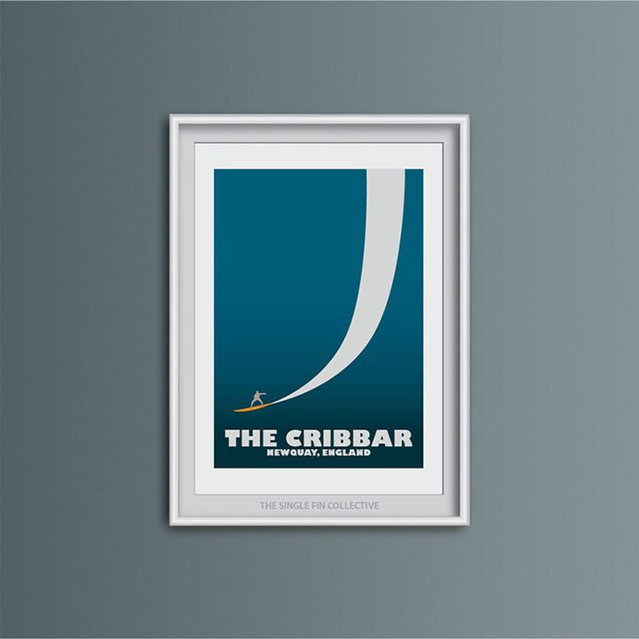 Cribbar Big Wave Spot Art Print