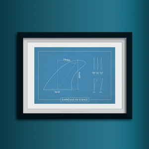 Fin Science Art Print