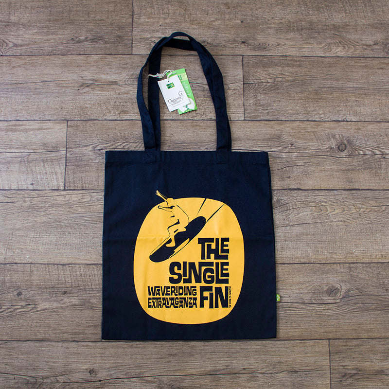 Waveriding Surf Themed Tote Bag