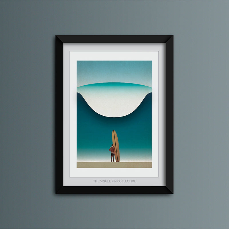 Noll at Pipeline Art Print