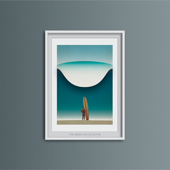 Noll in Hawaii Art Print