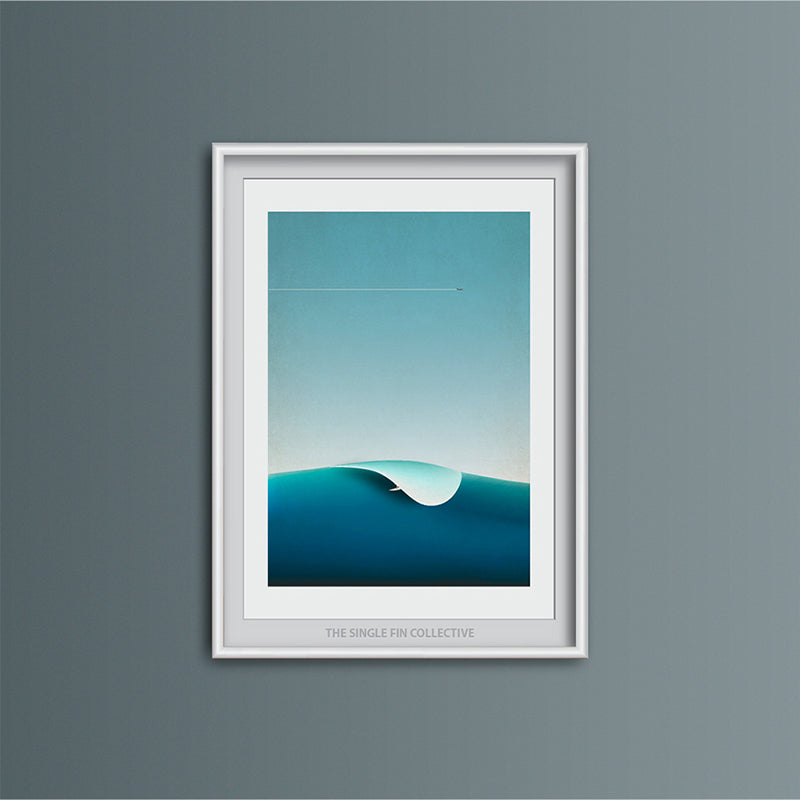 Outer Reef Art Print