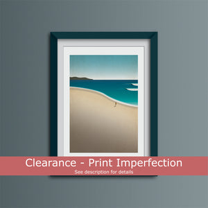 Clearance - Paradise Beach Art Print