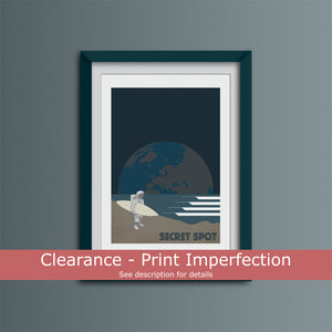 Clearance - Secret Spot Art Print