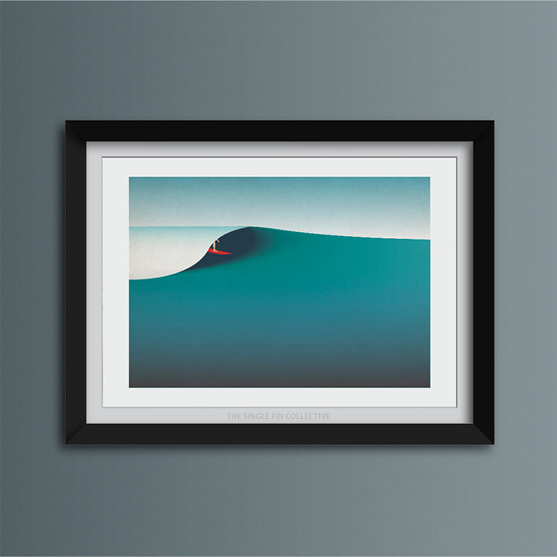 September Waves Art Print