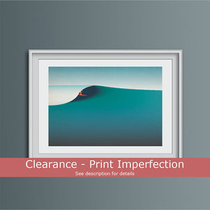Clearance - September Waves Art Print