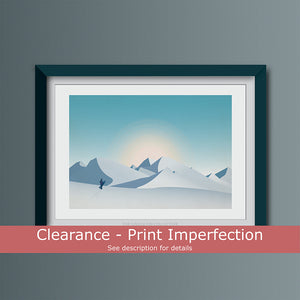Clearance - Snowboard Outlook Art Print