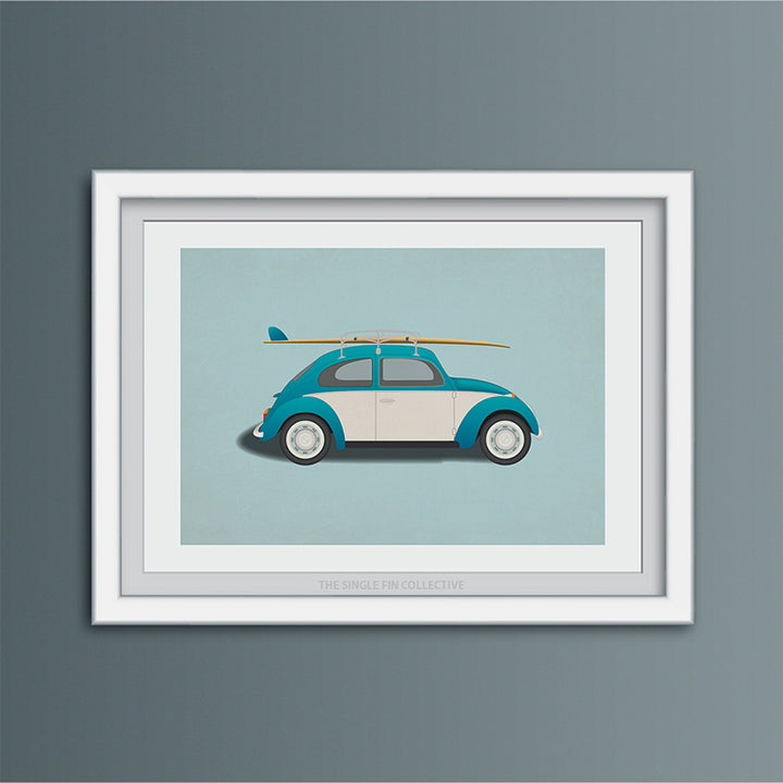 Surf Car Art Print