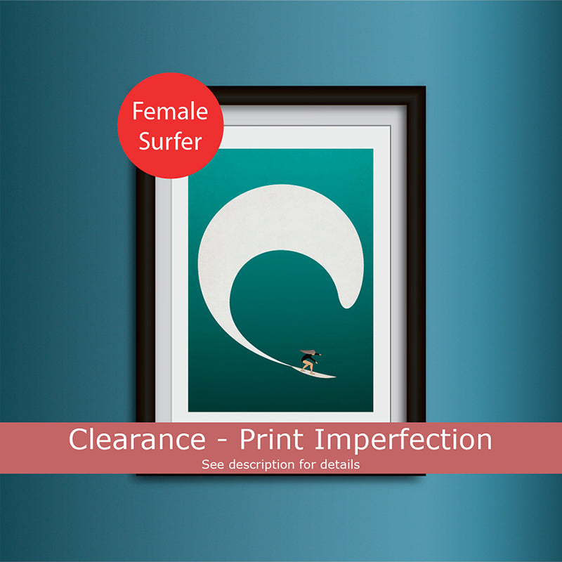 Clearance - Surf Girl 2 Art Print