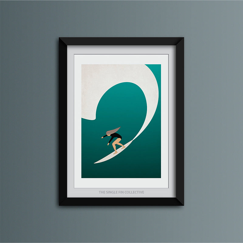 Surf Girl 1 Art Print