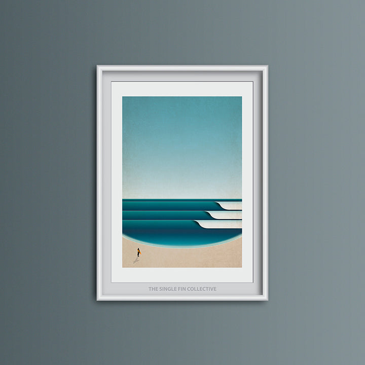 The Bay Art Print