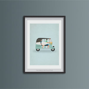 Tuk Tuk Travel Art Print