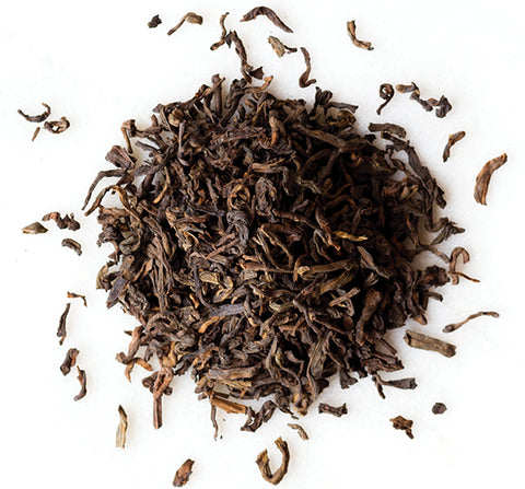 Puer Chinese style tea leaves