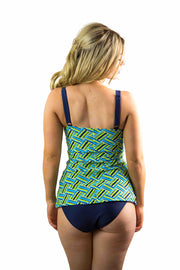 Mindy Tankini Top | Tropical Splice