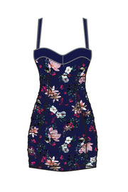 Marilyn Swimdress | Navy Vintage Floral