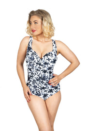 Vivien Swimsuit | Petal Rain (Plus Bust)