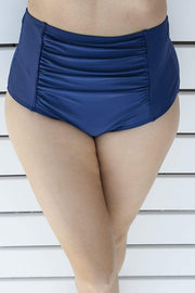 Sirens Swimwear High Waist Pants | Navy Blue S18-Pant-NVY-B08