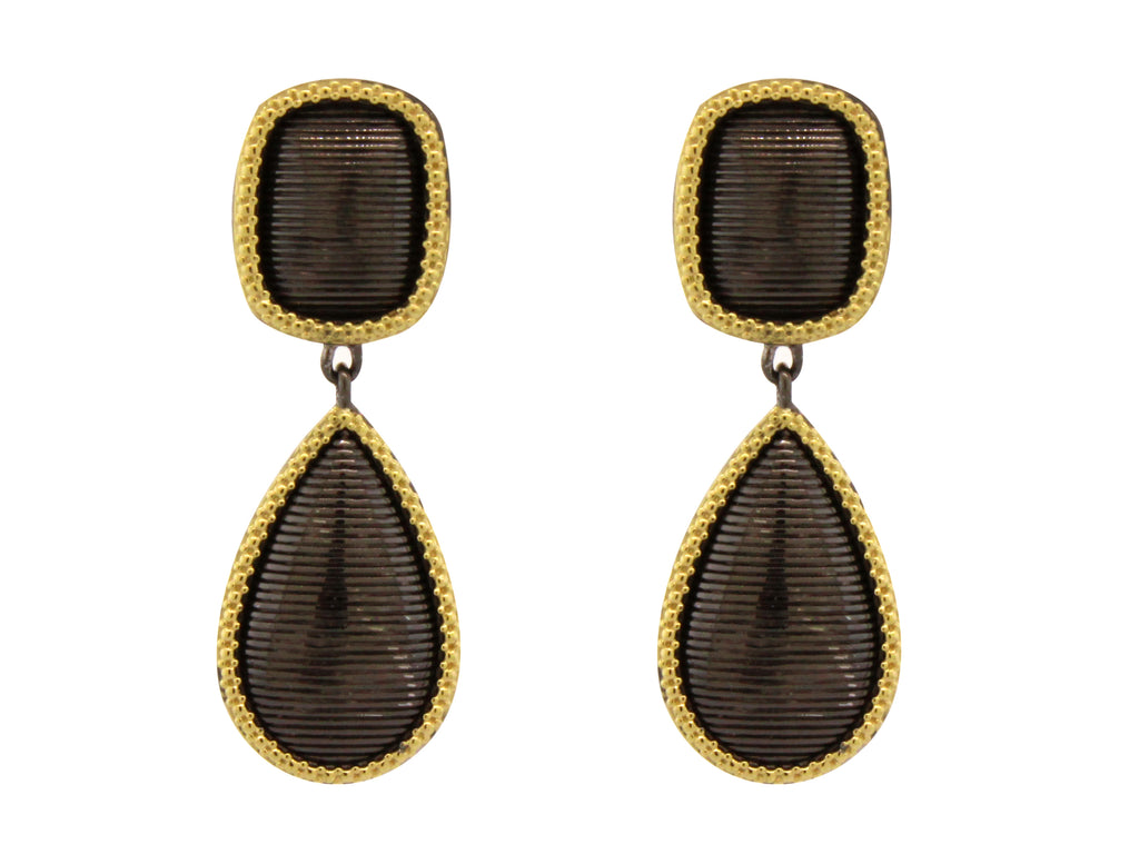 Noir Dangle Earrings