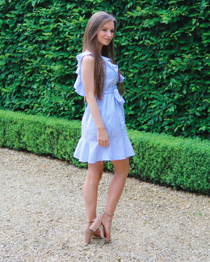 Feel The Stripe Blue Dress