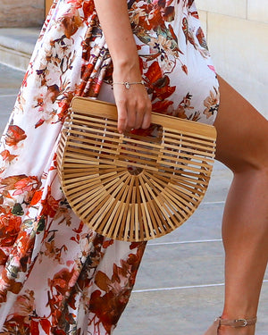 Tropical Vibes Bamboo Bag