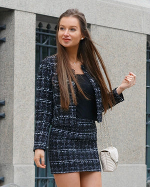 So Fancy Tweed Jacket & Skirt