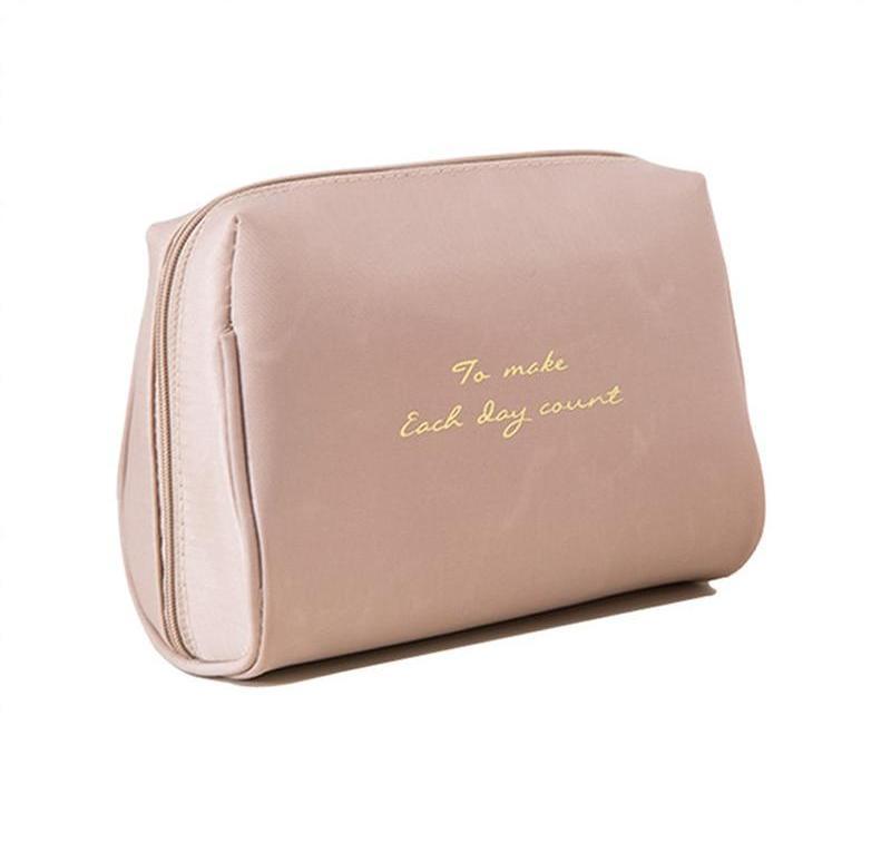 Make Up Bag 'To Make Each Day Count'