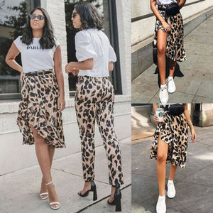 Dare To Be Wild Leopard Skirt