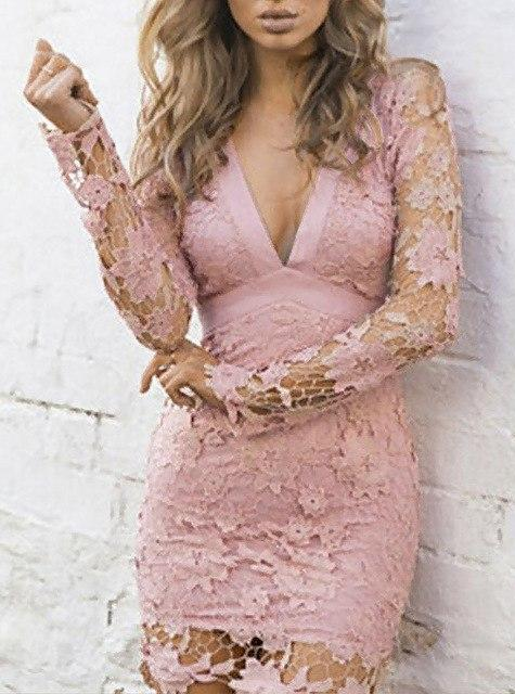 Absolutely Unforgettable Lace Dress