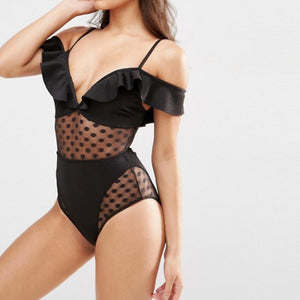 Cute Stuff Polka Dot Swimsuit