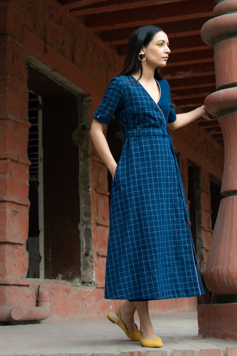 Neel Wrap Dress