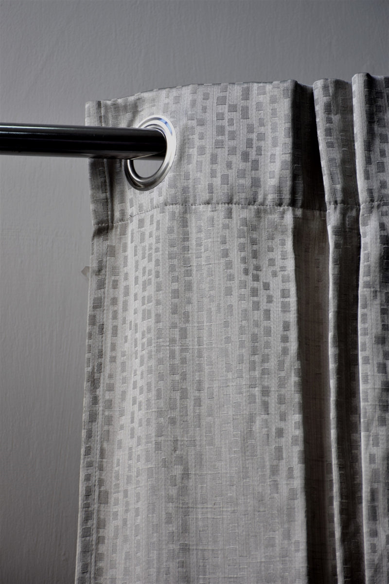 Preowned - Grey Curtains