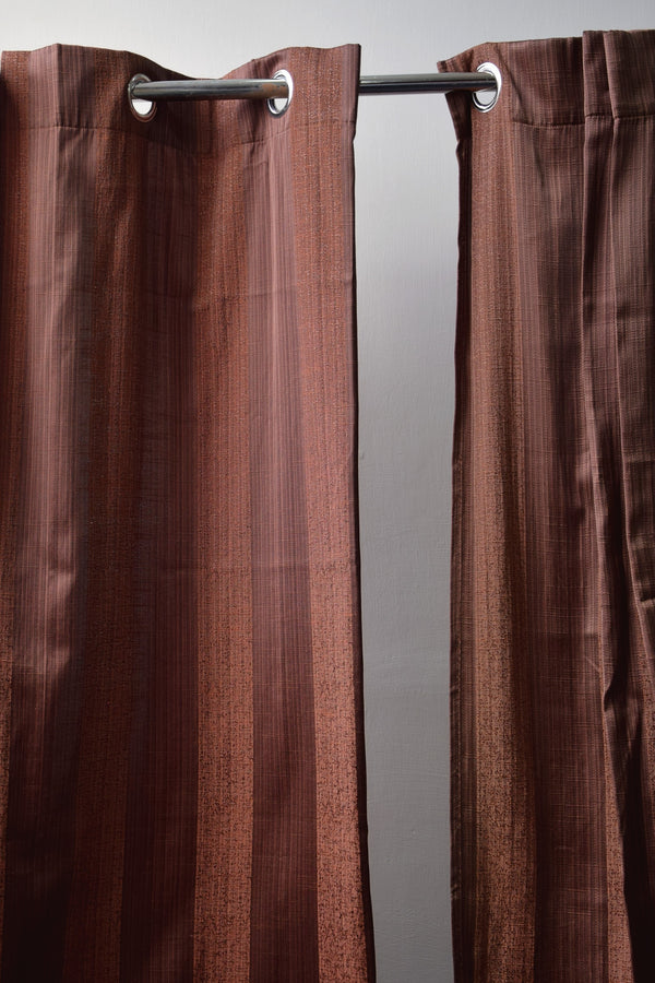 Preowned - Chocolate Brown Curtain